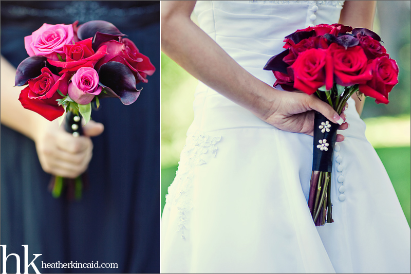 black calla lily bride bouquet