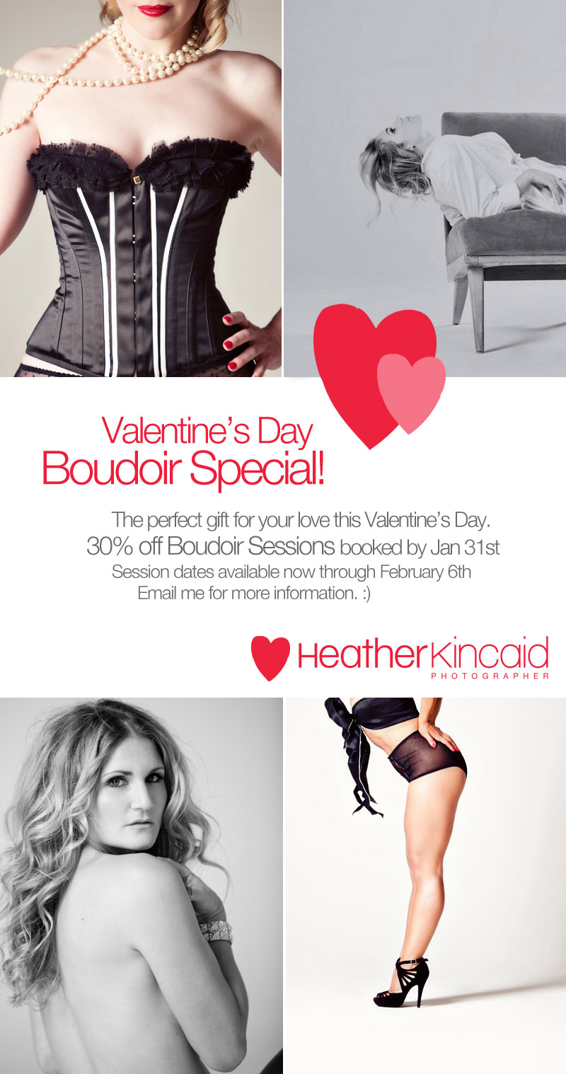 Valentine S Day Boudoir Special Los Angeles Photographer