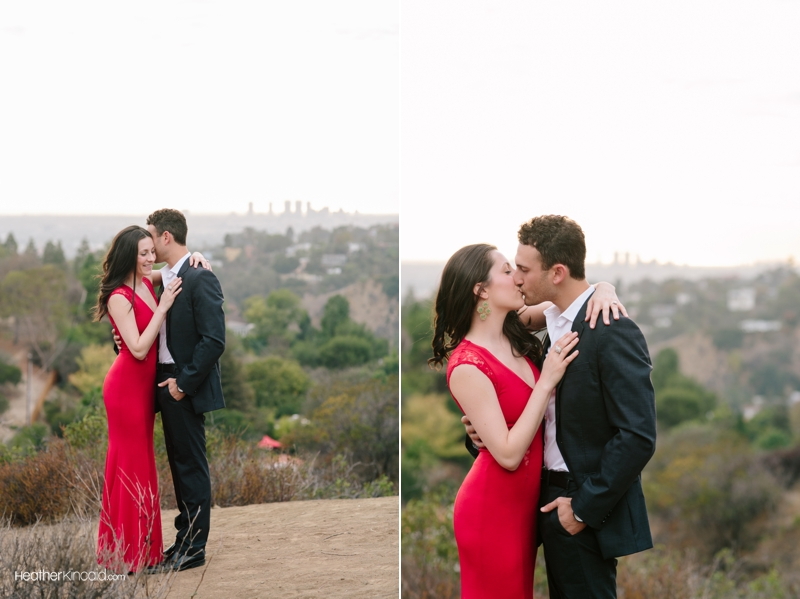 Griffithparkengagementsession Red Dress Rb 002