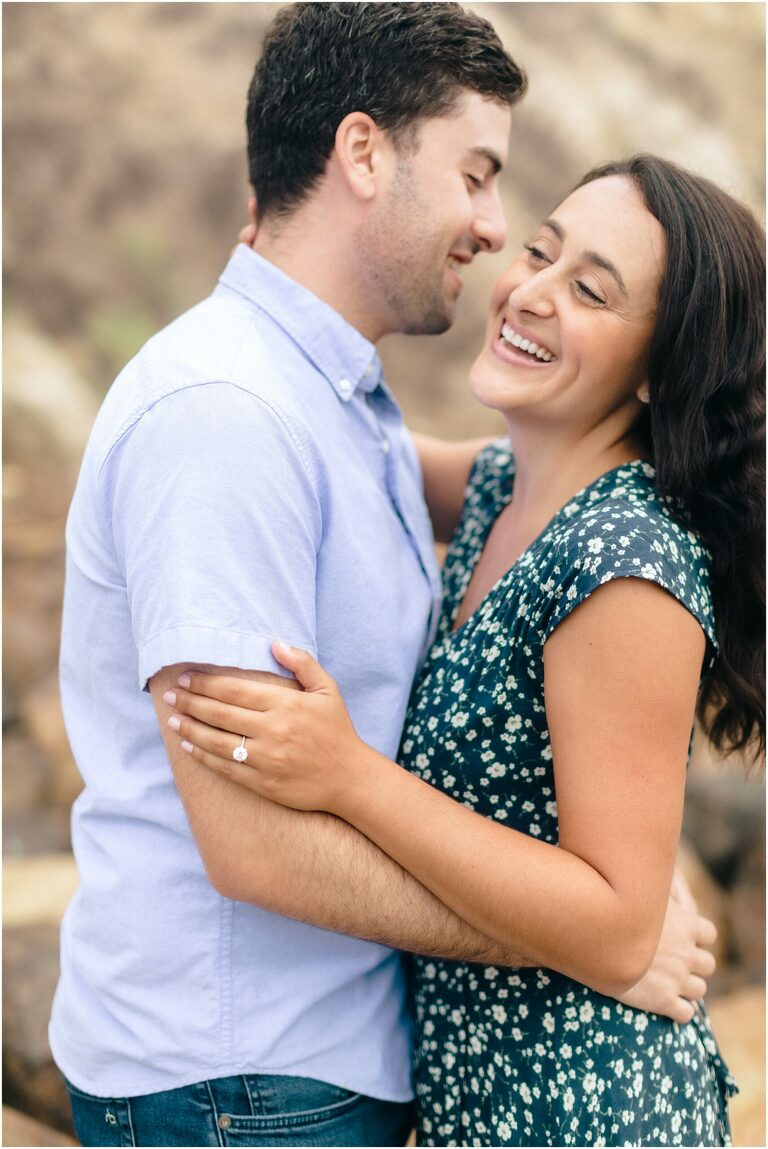Rachel and Jordan, Point Dume engagement session
